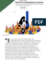 Lobby pró-cloroquina põe pesquisadores na fogueira