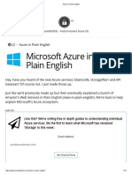 Azure in Plain English