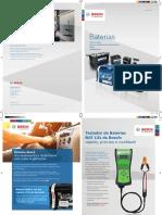 Catálogo 2020 Baterias Bosch Brasil