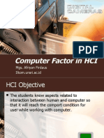 Chapter3 Computer Factor