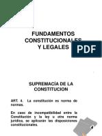 FUNDAMENTOS CONSTITUCIONALES Y LEGALES