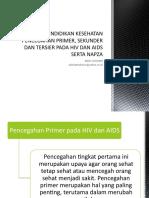 3. PENDIDIKAN KESEHATAN  (Pencegahan primer, sekunder dan tersier).pptx