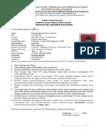 Surat Pernyataan KKN aldo