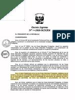 DS 008-2008 Reglamento del DL N° 1079
