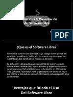 Software Libre (Presentacion)
