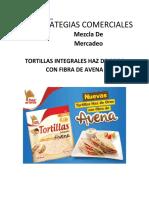 TORTILLAS INTEGRALES HAZ DE OROS CON FIBRA DE AVENA