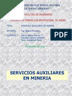 servicios auxiliares