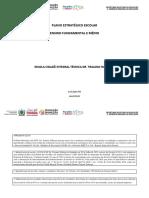 PLANO ESTRATÉGICO ESCOLAR DA ECIT. DR. TRAJANO NÓBREGA -  ENSINO FUNDAMENTAL E MÉDIO - PDF