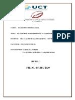 ENTORNO DE MARKETING Y CAMPO DE ACCION
