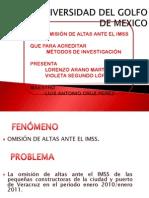 Omision de Altas Ante El Imss Lorenzo y Violeta