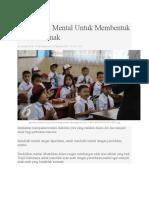 Pendidikan Mental Untuk Membentuk Karakter Anak.docx