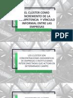 EL CLÚSTER COMO INCREMENTO DE LA COMPETENCIA  Y.pptx
