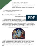 ÎNVIEREA DOMNULUI IISUS HRISTOS