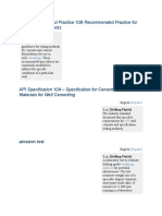 API Recommended Practice 10B Recommended Practice for Testing Well Cements.docx