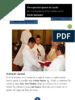 Boletín N° 83, del 27 de Diciembre de 2010 al 2 de Enero de 2011
