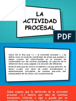 acto procesal