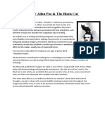 Edgar Allan Poe Report