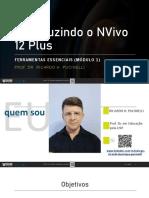 Introduzindo o NVivo 12 Plus - Ferramentas Essenciais Módulo 1.pdf