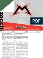 Marzocchi Shiver 35 Forks Servicing Manual