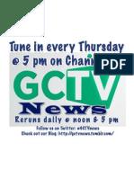 GCTV News Flyer - Episode 2