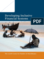 CGAP Funder Training Brochure