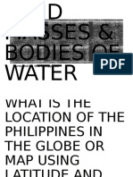 Landmasses and Bodies of Water