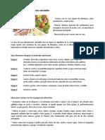 Ideas para una alimentación saludable