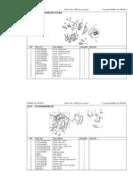 Lifan 150cc parts list