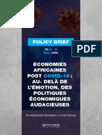 Economies Africaines post covid-19 - au- delà de l'émotion, des politiques économiques audacieuses.pdf