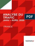 TomTom Traffic Report Apr 2020