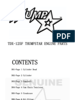 thumpstar 125cc engine parts list
