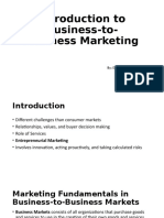 Sellingin Business to Business Marketing - 1.pptx