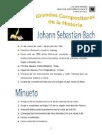 Bach - Minuetto