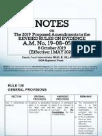 SC OCA - Evidence Updates - 2020 - 01