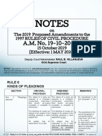 SC OCA - Civil Procedure Updates - 2020 - 01