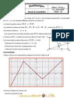 Devoir de Contrôle N°1 - Math - 3ème Sciences exp (2010-2011) Mr Salhi Noureddine