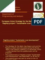 Flagship Sustainable Rural Development
