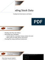 Reading Stock Data Lecture