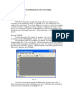 Using the PSPICE Circuit Simulation Software Package