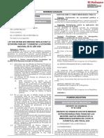Publican en Normas Legales ley de retiro del 25 % de los fondos AFP