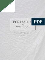 PORTAFOLIO ARQUITECTO MISAEL JIMENEZ. comprimido