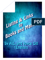Listing & Links to Books and Manuals