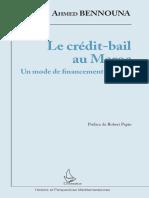 Le crédit-bail au Maroc