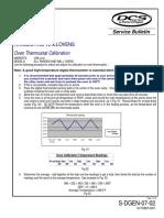 F-P - DCS Bulletin S-DGEN-07-02 Oven Thermostat Calibration