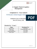VF Brands Case Analysis