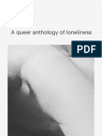 Not Here, A Queer Anthology of Loneliness (Pilot Press, 2017)