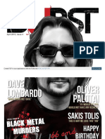 Magazine Burst - Dave Lombardo number