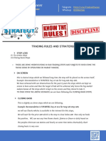 Trading Rules and Stratergies