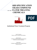 Std Spec for boiler chemical compound