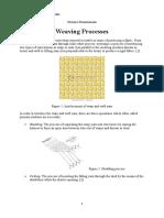 BAB I Textile Technology - WEAVING